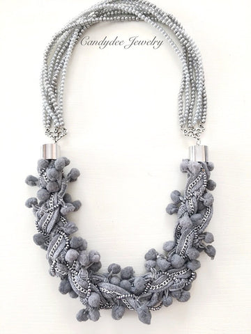 Ash Grey necklace