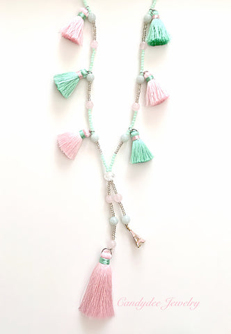 Pony Pink Necklace