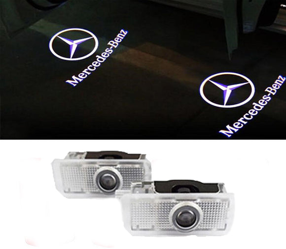 Mercedes Benz door light projector hologram laser plug and play E CLS CLA