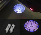 Mercedes-Benz cls e class door light projector hologram laser plug and play 2pcs oem