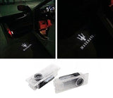 Maserati Quattroporte Ghibli led car door light projector garranty luxury cars