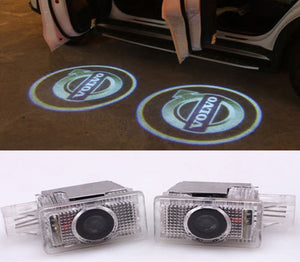 volvo logo welcome door light projector led laser plug and play s60 xc 60 90