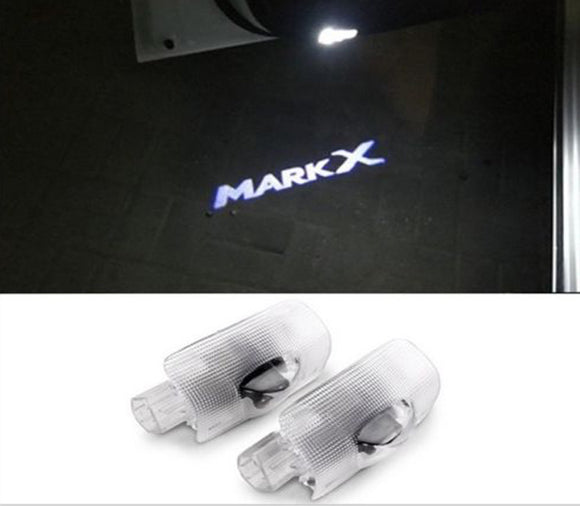 Toyota reiz mrk x logo welcome door light projector plug&play