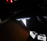tesla model 3 X S logo door light projector plug and play oem easy install