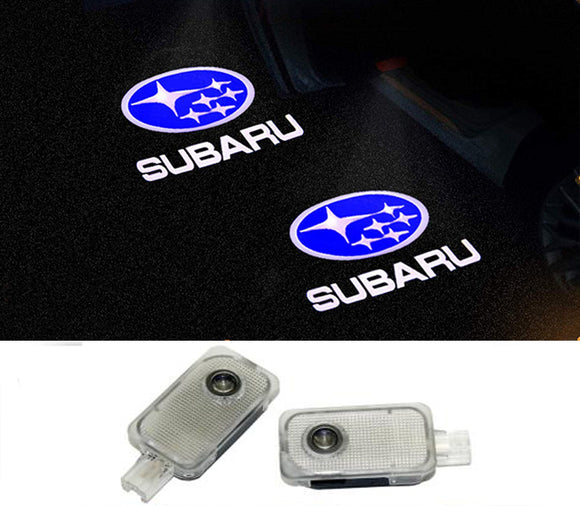 subaru welcome door light projector laser led plug&play