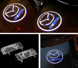 Car door Projector Courtesy Laser LED Light for Mazda 6 2004 2013 easy install