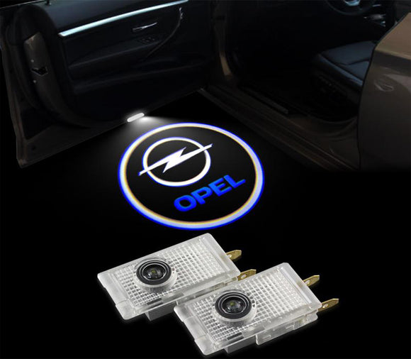 Opel insignia logo welcome car door light projector hologram laser plug&play