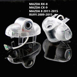 Mazda 8 RX-8 CX-9 RUIYI door light projector hologram plug and play easy install