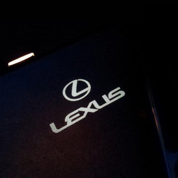 lexus logo door light projector laser led plug&play es gs300 350 400 430