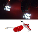 volkswagen vw R welcome door light projector plug and play led laser