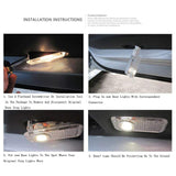2x Mercedes-Benz DOOR LIGHT (PLUG&PLAY) E-Class / CLS
