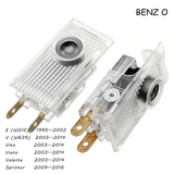 2x Mercedes-Benz DOOR LIGHT (PLUG&PLAY)