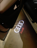 audi ring logo door light projector laser led plug and play 1 year warranty