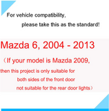 2x MAZDA DOOR LIGHT (PLUG&PLAY)