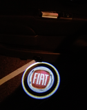 fiat logo door light projector laser led plug and play oem