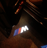 bmw m performance courtesy logo door light projector laser led plug and play