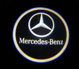 mercedes benz logo courtesy door led light cla e c cls a b e m gl gla glc gle gls g clk slk slr glk r s
