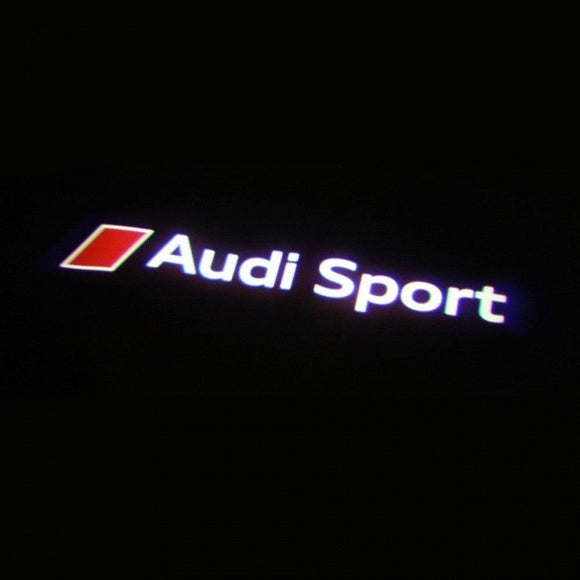 audi sport logo door light projector laser led plug&play 1 year warranty