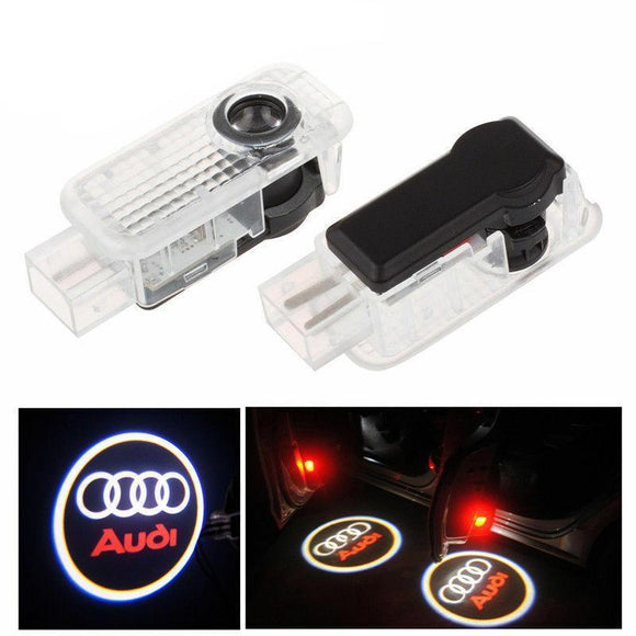 audi logo door light projector laser led plug&play 1 year warranty