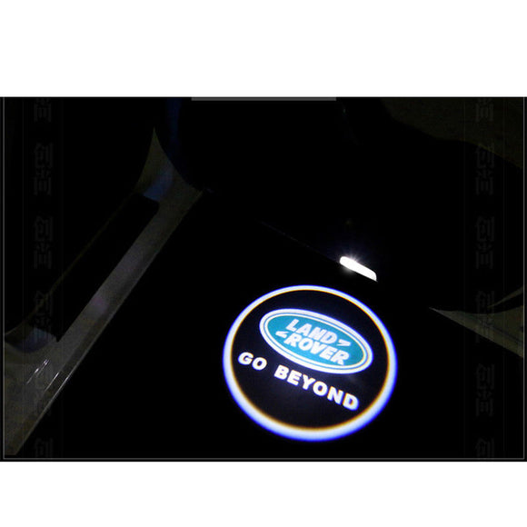land rover freelander logo door light projector laser led plug&play