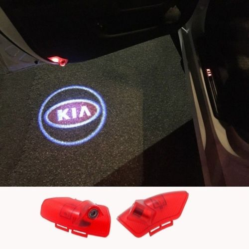 kia logo door light projector laser led plug&play