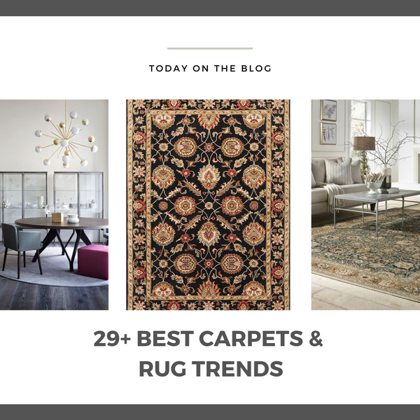 29 Trending Carpets With Designs For 2021 And Beyond