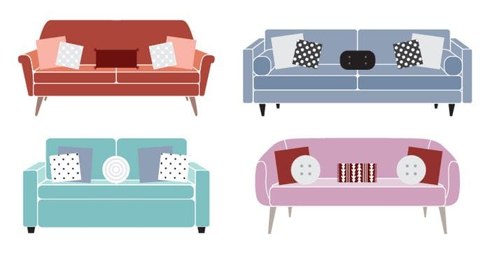 2:2:1 Pillow Rule for Home Decoration