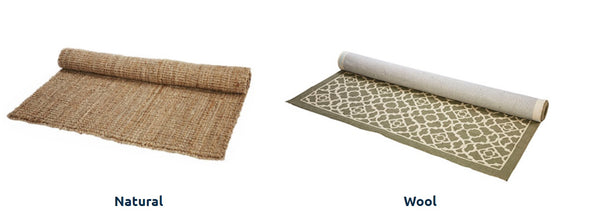 Finding the Perfect Rug - Material Used/Fiber