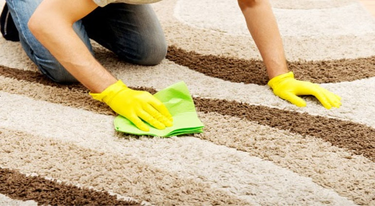 Cleaning of carpet