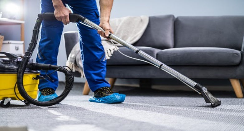 Carpet cleaning process