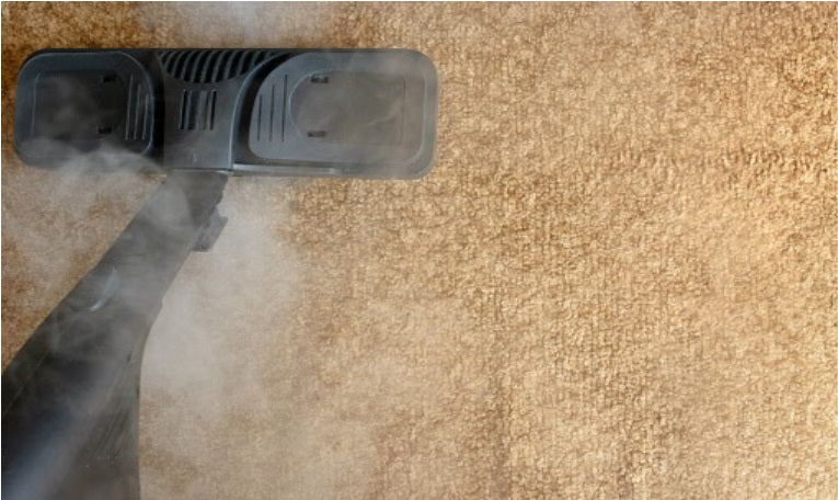 Carpet cleaning with boiled water method