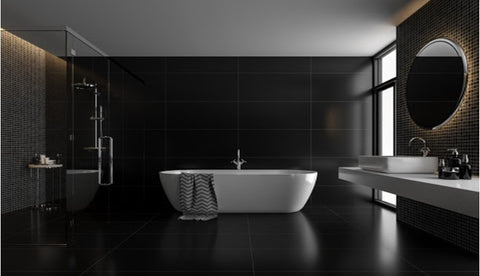 A Chic And Modern Marvelous Expression In Bathroom Renovation