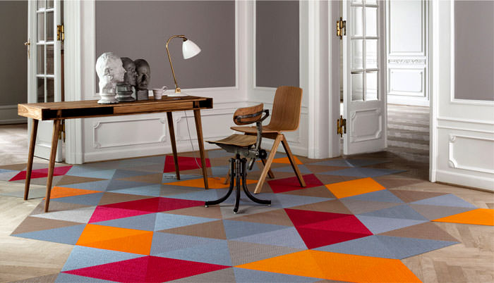 Artistic flooring for home decoration