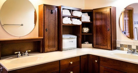 Cabinets/Cupboards in bathroom