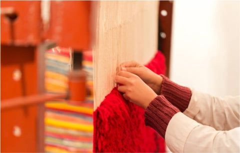 Hand-Knotting an area rug; why hand-knotted rugs are expensive