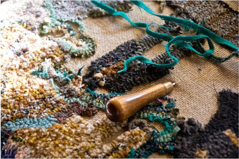 Hand-Hooked Rug; How A Rug Is Made