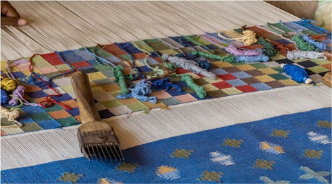 Dhurries rugs for dining room