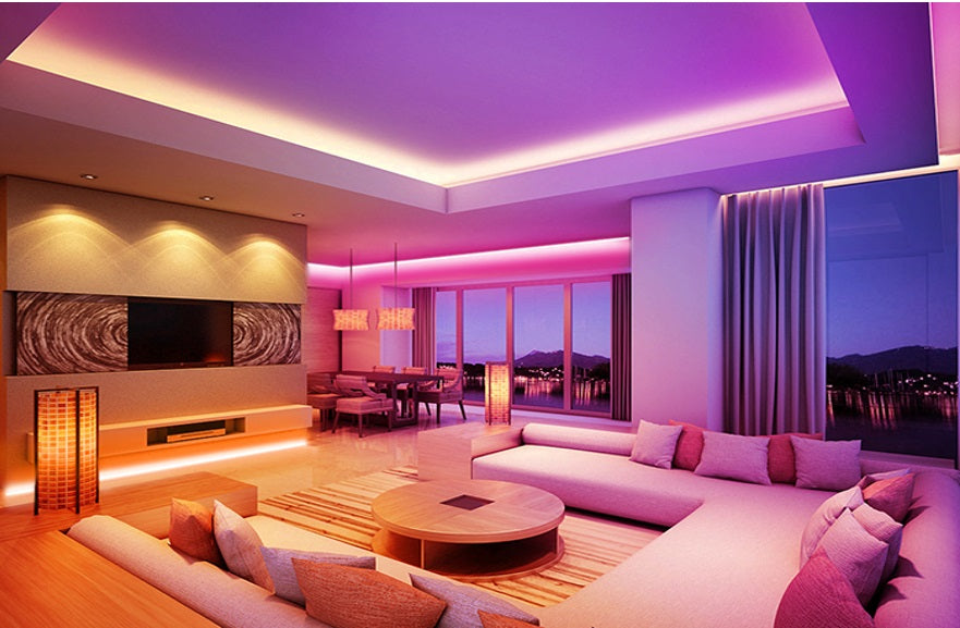 Lightning: Luxury Living Room
