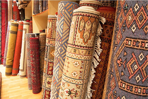 How A Rug Is Made; Many Rugs