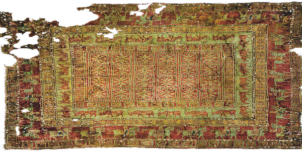 Oldest carpet of the world - The Pazyryk Rug
