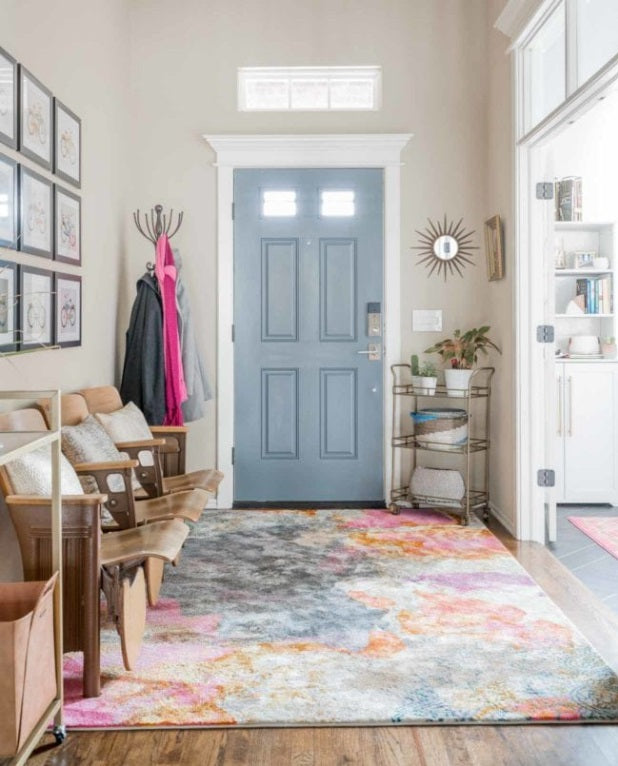 area rug for entryway