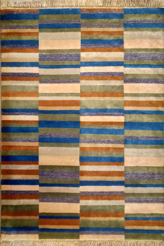 Abstract pattern modern rug for dining room