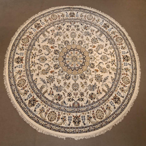 Round rug for dining room
