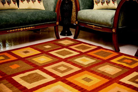 Dhurrie rug; how rugs are made?