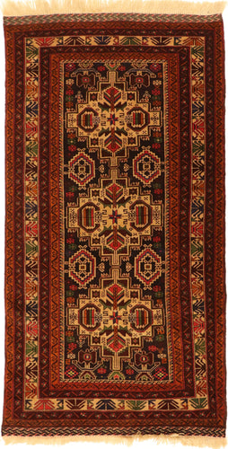 The Rugs Cafe Carpets 3.6x6.4 Khurasan Vintage Rug