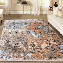 Load image into Gallery viewer, The Rugs Cafe Carpets 8x10 Ultra Modern Rug with Medallion for Living Room, Bedroom, Dining Room, and Office