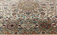 Load image into Gallery viewer, The Rugs Cafe Carpets Ardabil White Area Rug