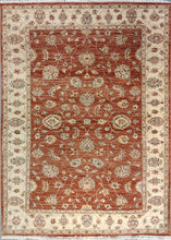 Load image into Gallery viewer, The Rugs Cafe Carpets Rust / 5x7 Chobi Hightwist Rug Rust