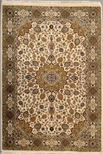 Load image into Gallery viewer, The Rugs Cafe Carpets White / 4x6 Ardabil White Area Rug