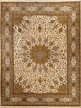 Load image into Gallery viewer, The Rugs Cafe Carpets White / 9x12 Ardabil White Area Rug